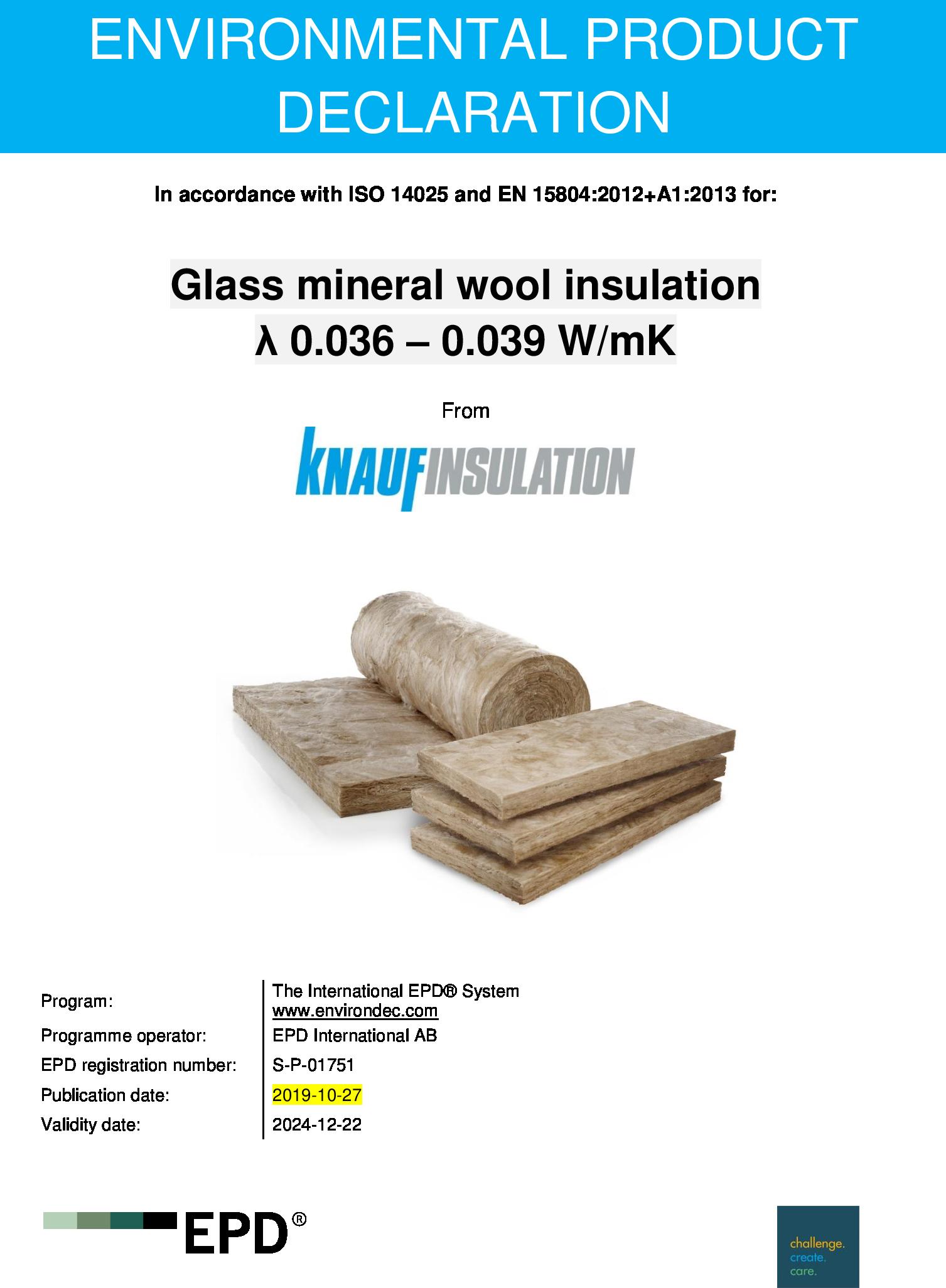 Earthwool DriTherm 37 Standard   Knauf Insulation
